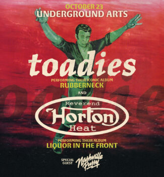Toadies, Reverend Horton Heat: Postponed – TBD