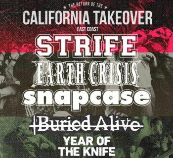 Strife, Earth Crisis, Snapcase